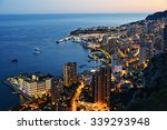 View Of The City Of Monaco By...