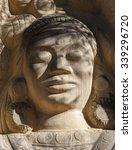 Sculptures Carved On Sandstones ...