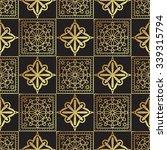 vintage luxury gold background... | Shutterstock .eps vector #339315794