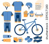 Mountain Bike Kit  Infographic...