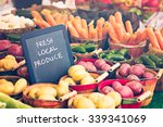 Fresh Produce On Sale At The...