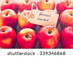 Fresh Organic Red Apples From...