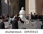 vatican   october 22  pope... | Shutterstock . vector #33935413
