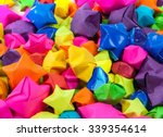 the background of colorful stars | Shutterstock . vector #339354614