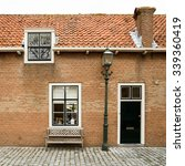 A Typical Dutch Brick House...