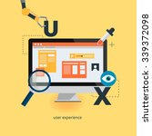 ux design web infographic...