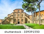 Stock photo famous basilica di san vitale one of the most important examples of early christian byzantine art 339391550