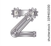 """the letter """"z"""" with gears ... 