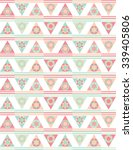 abstract geometric triangle... | Shutterstock .eps vector #339405806