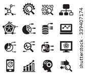 data mining  database  data... | Shutterstock .eps vector #339407174