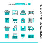 shopping  retail  delivery ... | Shutterstock .eps vector #339420578