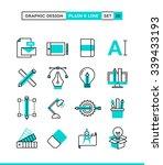graphic design  creative... | Shutterstock .eps vector #339433193