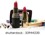 decorative cosmetics | Shutterstock . vector #33944230