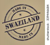 made in swaziland grunge rubber ...   Shutterstock .eps vector #339446684