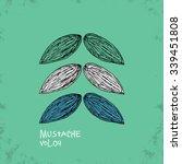 Cartoon Style Mustache...