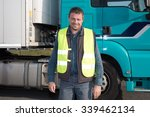 logistics   proud driver or... | Shutterstock . vector #339462134