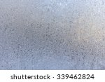 frosted glass texture. winter... | Shutterstock . vector #339462824