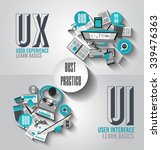 ux user experience background...