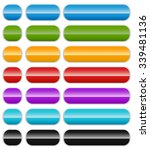 set of colorful  shiny banner...   Shutterstock .eps vector #339481136