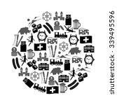 switzerland country theme... | Shutterstock .eps vector #339495596
