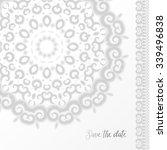 vector illustration of detailed ... | Shutterstock .eps vector #339496838