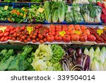fresh vegetables market.  ... | Shutterstock . vector #339504014