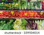 fresh vegetables market.  ... | Shutterstock . vector #339504014