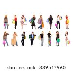buying things isolated concept  | Shutterstock . vector #339512960