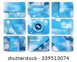 abstract composition  business... | Shutterstock .eps vector #339513074