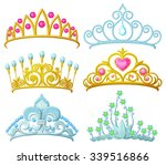 Set Of Princess Crowns  Tiara ...