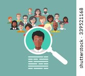 vector concept of human... | Shutterstock .eps vector #339521168