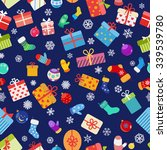 seamless pattern of colorful... | Shutterstock .eps vector #339539780