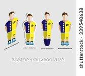bosnia herzegovina soccer team... | Shutterstock .eps vector #339540638