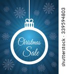 shopping christmas offers and... | Shutterstock .eps vector #339594803