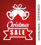 shopping christmas offers and... | Shutterstock .eps vector #339594824