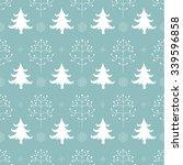 winter forest background.... | Shutterstock .eps vector #339596858