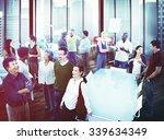 business people team teamwork... | Shutterstock . vector #339634349