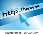 internet web browser | Shutterstock . vector #33964009