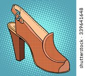 retro shoes womens pop art