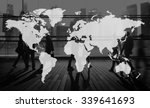 world global cartography... | Shutterstock . vector #339641693