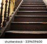 Vintage Stairs  Selective Focu...