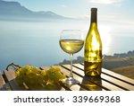 wine and grapes against geneva... | Shutterstock . vector #339669368