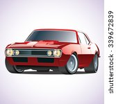 vector sports car | Shutterstock .eps vector #339672839