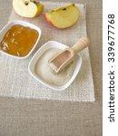 Small photo of Agar-agar and apple jelly