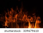 Burning Firewood In The...