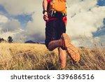 Hiking Man  Backpacker  Climbe...