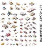 isometric vector icon set which ... | Shutterstock .eps vector #339704249