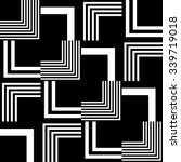 seamless stripe and line... | Shutterstock .eps vector #339719018