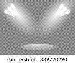 bright spotlights vector design | Shutterstock .eps vector #339720290