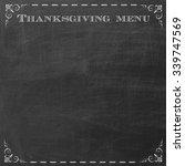 empty chalkboard to copyspace... | Shutterstock . vector #339747569